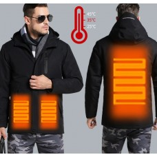 Стильная куртка с подогревом
