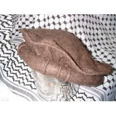 Афганская шапка - пуштунка (пакол), цвет: кофе