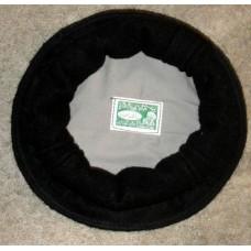 Афганская шапка - пуштунка (пакол), цвет: черный