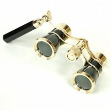 Театральный бинокль - лорнет (черный). Lorgnette Opera Glasses