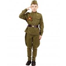 Детская военная форма времён ВОВ