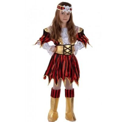 Детский карнавальный костюм пиратки