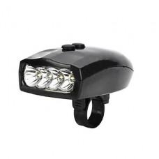 4-LED 3-Mode Белый свет Электронные световом фронте велосипед с горы (3xAAA, в комплект не входит)