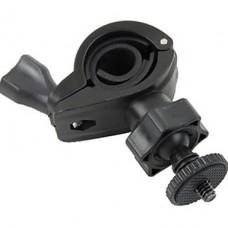360 градусов черный поворотный кронштейн для камеры / DVR / Велосипед &amp- Motorcycle Recorder