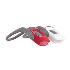 2-Mode красный + белый светодиодный Tie-On Bike Lights - пара (2 х CR2025)
