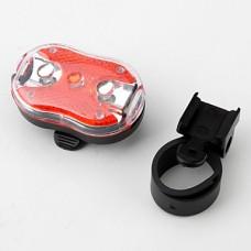 3-х под руководством 7-режиме красный и белый свет Safty предупреждение велосипед хвост лампы