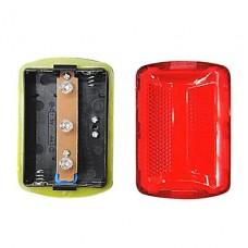 3-LED велосипедов безопасности Tail Light (Red)