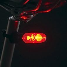 2 светодиодных велосипедов Красный безопасности заднего света
