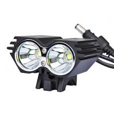 2U2 свет велосипед / SolarStorm X2 2xCree XM-L U2 2000 люмен светодиодный 4 режима велосипеда СИД / свет велосипеда фронта (12-2T64MX2BL)
