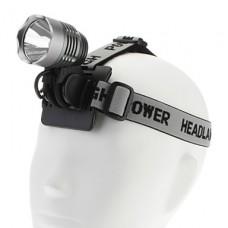 1200LM высокой мощности перезаряжаемые свет велосипеда и фар (с аккумулятором и зарядным)