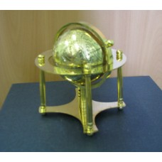 Глобус золотой