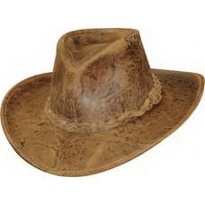 Кожаная шляпа стетсон