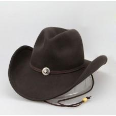 Ковбойская фетровая шляпа Брэнсон