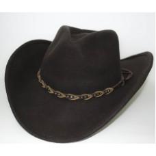 Ковбойская фетровая шляпа Гризли