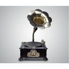 Граммофон ретро +USB, CD, Mp3, FM
