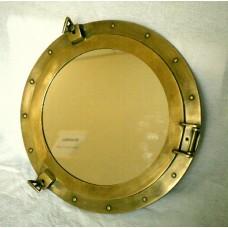 Иллюминатор 18 дюймов с зеркалом. Диаметр зеркала 30 см