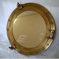 Иллюминатор 20 дюймов с зеркалом. Диаметр зеркала 30 см