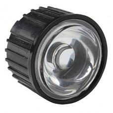 20мм 90 ° оптические стеклянные линзы с рамкой для фонарика, пятно света