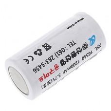 GTQQ XSL 1200mAh 3.7V Защищенные 16340 аккумуляторная батарея (Корея версия, 2-Pack)