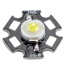 3200-3500k 0,75 Вт 80-90lm 280mAh теплый белый Светодиодная лампа с алюминиевой пластины (3,0 3,4)