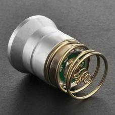 Cree XM-L T6 2-Mode Белый свет лампы (700LM, серебро)