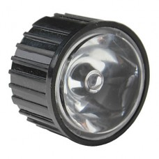 20 мм 8 ° оптические стеклянные линзы с рамкой для фонарика, пятно света