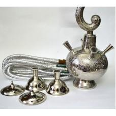 Кальян индийский серебро