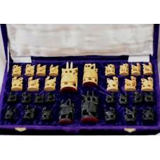 Набор шахматных фигур ручная резьба