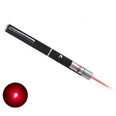 Лазерная указка в форме шариковой ручки, с красным лучом, 2 батарейки ААА