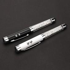 3-в-1 Фигурные ручки лазерная указка (3xLR44, черный и белый)