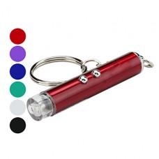 2-в-1 мини-2-режиме белом свете фонарика брелок для ключей и 5mw красный лазер (3xlr41)