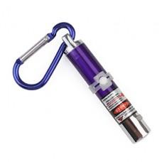 4 в 1 красный лазер привел брелок - фиолетовый
