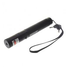 SDLaser 301 с блокировкой фонарик Shaped Зеленая лазерная указка (532, 1x18650, черный)
