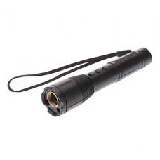 XLD-868 3-в-1 1 мВт Shaped фонарик лазерная указка (зеленый, красный, фиолетовый, 1xAAA)