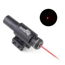 Красный лазерный прицел с креплениями (5 мВт)