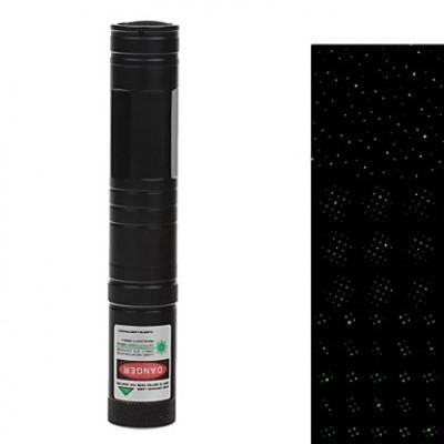 851 Зеленая лазерная указка (5 МВт, 532, 1 * LC16340, зарядное устройство, черный)