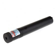 302 запираемый Масштабируемые фиолетовый лазерный указатель (1x18650/2xCR123A, черный, 5 мВт, 405 нм)