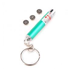 2 в 1 главе и красный фонарик лазерная указка с брелок зеленый
