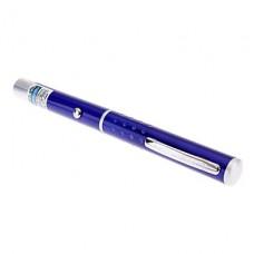 Голубая лазерная указка (5mW, 2xAAA) в форме ручки