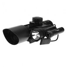 LT-M9D целевой области с красная лазерная указка (3xAG13, Черный)