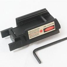 Красный лазерный прицел 5 мВт Охота Черный пистолет