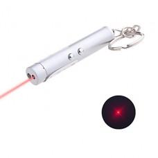 Брелок с мощными фонариком и лазерной указкой (3xAG13)