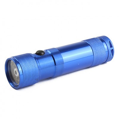 2-Mode алюминиевого сплава 8-светодиодный фонарик (3xAAA, синий)