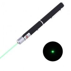 Зелёная лазерная указка в форме ручки 5мВт 532нм (2хААА)