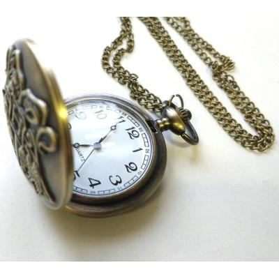 Часы кварцевые на цепочке Хогтсвартс