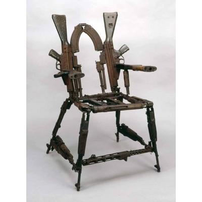 Кресло из АК 47