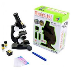 Мини-микроскоп для студентов (черный)
