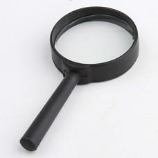 10x 50 мм, черная лупа край