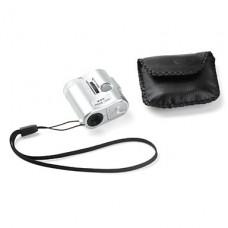 60X 3-LED карманный мини микроскоп с чехлом