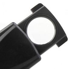 30x18mm прицепные брелок привел освещение лупой